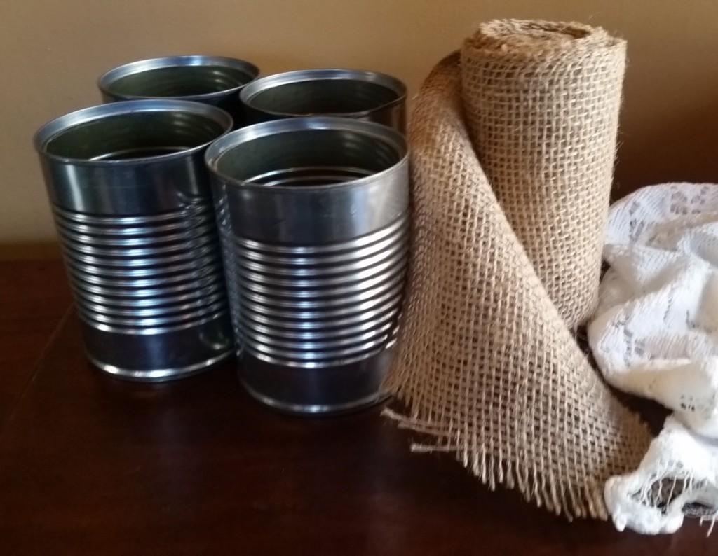 Materials for vintage-inspired votives